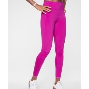 NWT Athleta Rose Run Free 7/8 Leggings